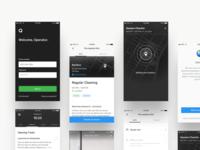 Operator App - Screens