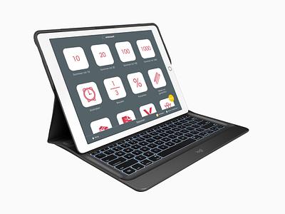 Ambrasoft Rekenen & Taal ux design children digi board ipad app