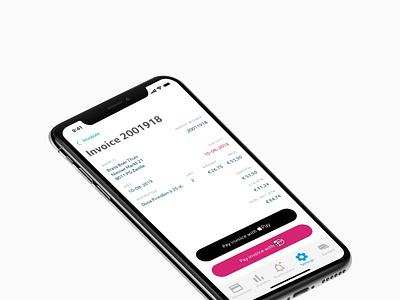 CCV iOS app ideal apple pay invoice design ios app ios