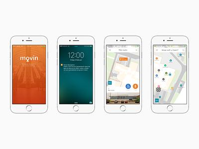 Movin indoor navigation app app ios indoors navigation