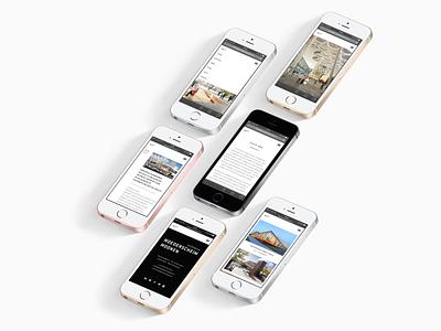Moederscheim Moonen Architects Website ux design website architecture