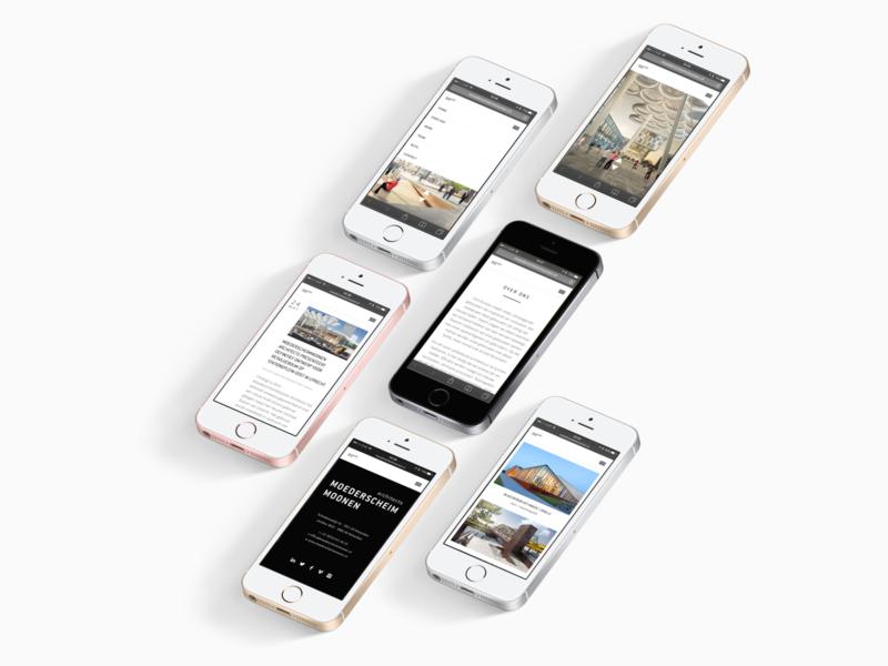 Moederscheim Moonen Architects Website