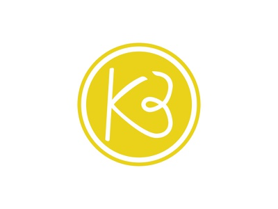 KB logo logo yellow heart