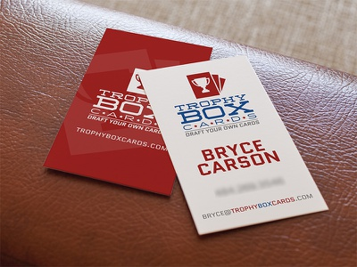 Logo & Business Card logo business card card sports trophy cards trading cards