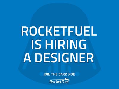RocketFuel is Hiring! hiring employment design web design