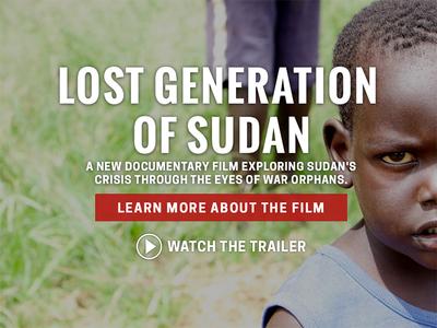 Operation Broken Silence nonprofit sudan africa website site responsive fluid