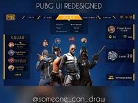 PUBG UI Redesigned