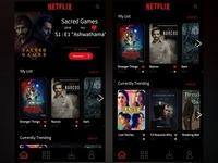 Netflix UI Redesigned
