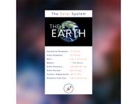 Solar System App UI