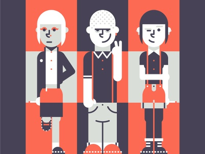 80s skinheads retro subculture street style skins skinhead mod fashion eighties 80s dr martens character design character