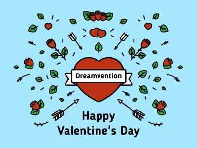 Happy Valentine's Day vectorillustration vectorart valentines day valentinesday illustration