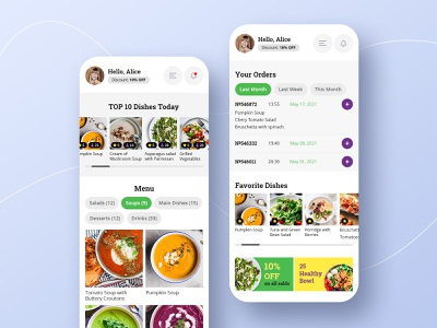 App for restaurant delivery app design app application food app app uxdesign uidesign uxui uiux ux ui