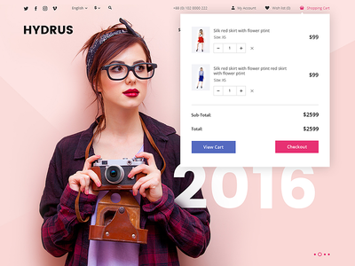Hydrus. Home Page. hydrus web ux ui themeforest theme psd opencart envato ecommerse