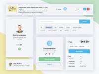 UI Kit for Shopunity