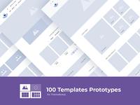 100 Templates Prototypes