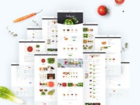 Ecommerce Food Template + Page Home for OpenCart