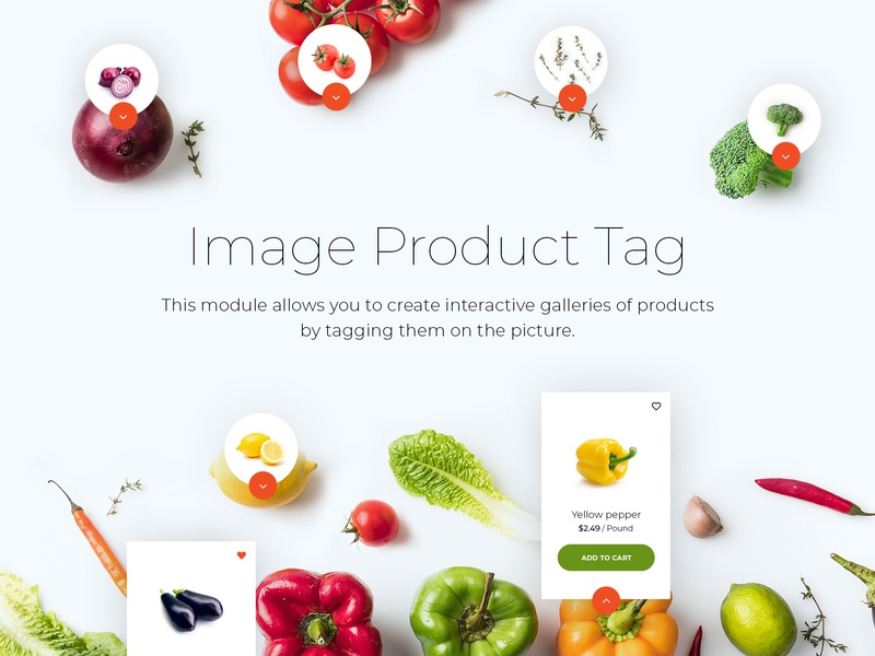 Module Image Product Tag template theme ux ui opencart ecommerse module