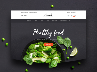 Home Page ux ui homepage design homepage ecommerse opencart