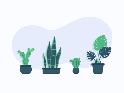 Illustration for VueFront flowers flower webillustration illustrations branding vector icons illustration