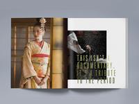 Memoirs of a Geisha Costume Spread