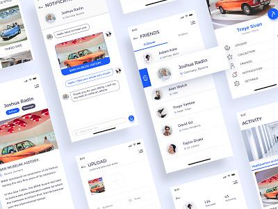 BMW DEALERSHIP PR NEWS-2 ui app concept