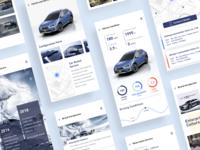 SUBARU LIFE-2 ui app concept