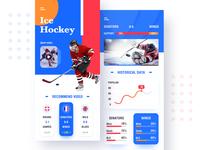 Sport Channel ui app concept
