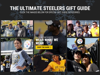 Steelers Holiday Gift Guide nfl steelers holidays