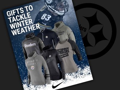 Tackle Winter Weather email steelers nfl ecommerce