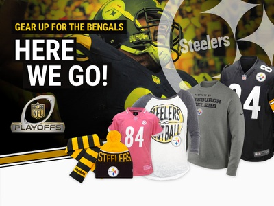 Playoffs Email steelers ecommerce email