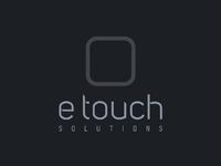 E touch logo