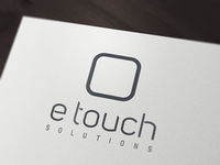 e touch solutions logo