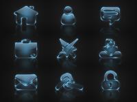 Icons for portfolio website