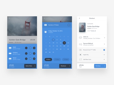 Checkout iphone app journal photography ui interface minimal design typography ux type flat
