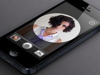 iPhone Camera (Free PSD)