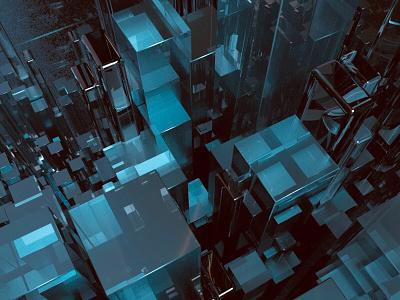 Pixel abstract pixel c4d