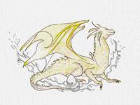 """Dragon """"Antipodean Opaleye"""""""