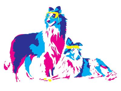 Science & Sport sport athlete nerd science collie dogs