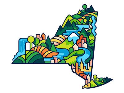Sup NY state nature niagra falls hudson river lake champlain mountains catskills adirondacks upstate new york