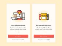 Coffee App Onboarding