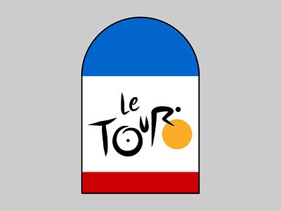 La Grande Boucle cyclisme climbing la grand boucle le tour de france cycling stickermule