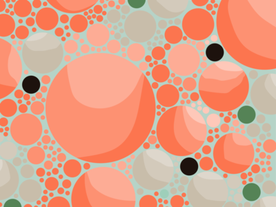 Bubbles art design texture bubbles circles abstract geometric illustration