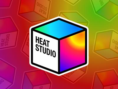 Heatstudio's Logo desktop app icon desktop app logo icon