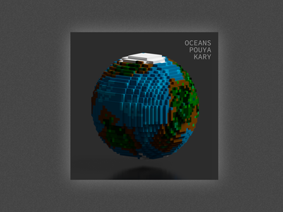 Album Artwork for Oceans Album - Idea 2 magicavoxel album album covers album cover artwork
