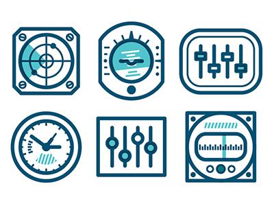 Panel icons