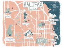 Halifax, Nova Scotia Map