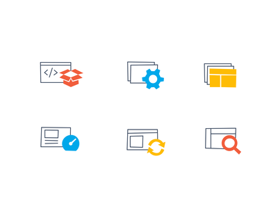 Automate 365 icons