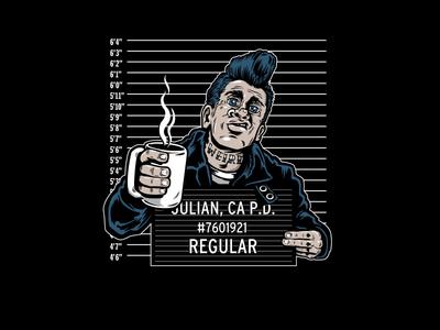 Regular Punk criminal coffee punk