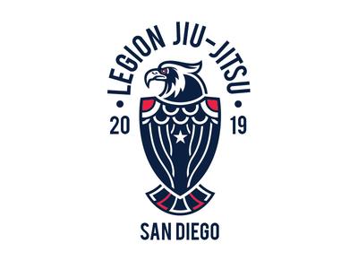 Legion Eagle eagle grappling jiujitsu ajj bjj