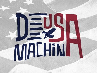 Indepence Day deus ex machina eagle flag usa flag